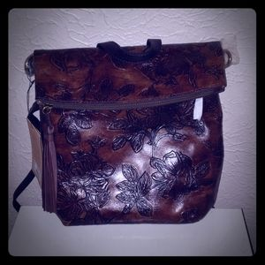 Patricia Nash Leather Backpack